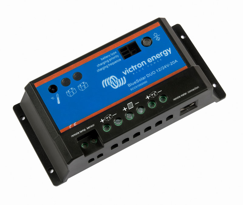 FotoSmall: Victron-BlueSolar-DUO-12-24V-20A-right