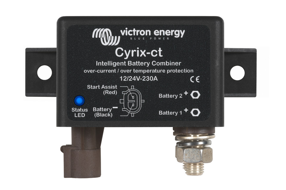 FotoSmall: Victron_Cyrix-ct-1224V-230A-intelligent-battery-combiner_front